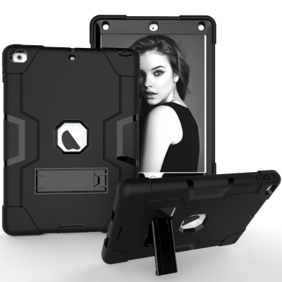 For 2019 iPad 10.2 7th Gen Shockproof Hybrid Heavy Duty Armor Stand Case Cover