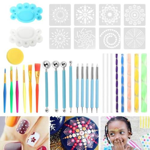 Mandala Dotting 35pcs Art Set