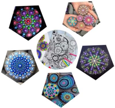 Mandala Dotting 35pcs Art Set