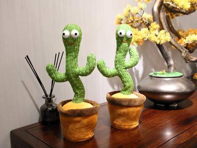 Plush Toys Singing and Dancing Cactus
