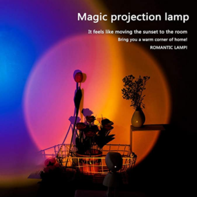 Sunset Lamp LED Projector Ambient Light - 80% Off