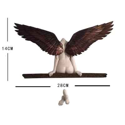 Icarus Had A Sister Angel Art Sculpture Wall Decoration