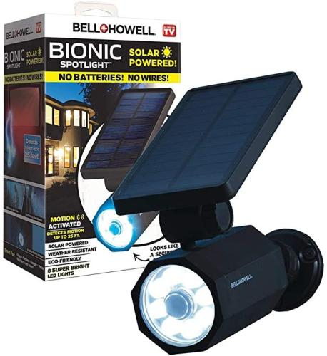 Bell and Howell Solar Motion Sensored Bionic Spotlight