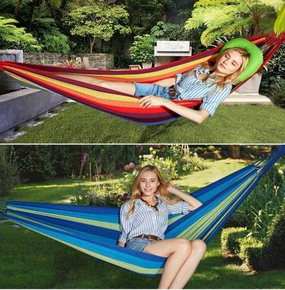 Canvas Hammock-Portable Travel Camping Swing Lazy Chair