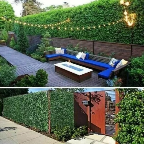 2021 New Upgrade Expandable Faux Privacy Fence