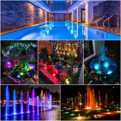 Submersible LED Pool Lights Remote Control (RF)