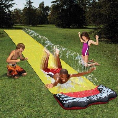 Huge lawn water ski inflatable single water ski game center