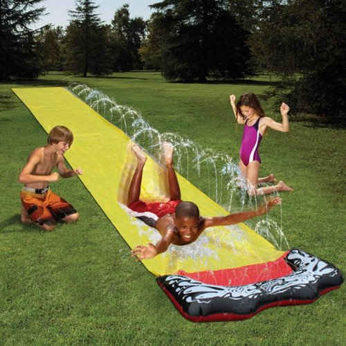 Huge lawn water ski inflatable single water ski game center