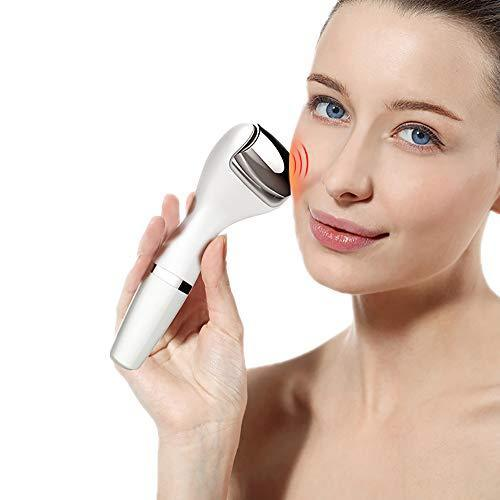 Electric Facial Massage Roller Microcurrent Vibration Facial Lifting Skin Tightening Machine with Loadstone for Anti Aging, Improve Skin Tone and Promote Nutrient Absorption