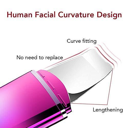 Skin Scrubber Face Spatula, Facial Cleansing Scraper Peel Pores Cleanser,Blackhead Removal Acne Extractor Skin Exfoliation Colorful