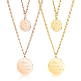 In Stock Fashion Women Chain Assorted Jewelry Gold Women Layering Necklace