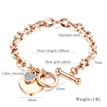 Factory Hot Seller Popular Fashion Women Jewelry Custom Gold Bracelet