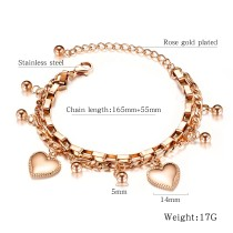 Factory Hot Seller Popular Fashion Women Jewelry Bohemia Gold Bracelet