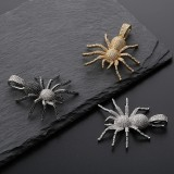 Hipster Halloween Spider Pendant Full Of Zircon Boutique Hip Hop Necklace