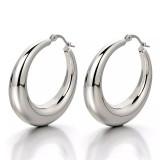 Flynee Jewelry Chunky Gold Hoop Earrings For Women Cute Fashion Hypoallergenic Earrings Minimalist Jewelry Gift