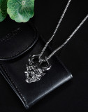 Trendy hip-hop wild hiphop long pendant fashion personality retro devil necklace
