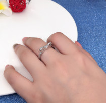 Anniversary Promise Engagement Cubic Zirconia Engagement Rings