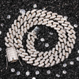 European and American hip hop bar necklace