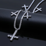 Explosive Christian Cross Necklace
