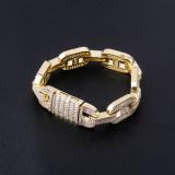 Hip Hop Men's Jewelry Bracelet, Zircon Bracelet
