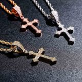 European and American Jesus Christ vintage style cross necklace
