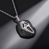 Ghost Ghost Personality Hip Hop Pendant Necklace