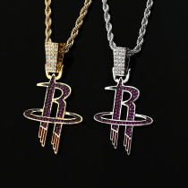 Hip Hop Team Pendant Necklace