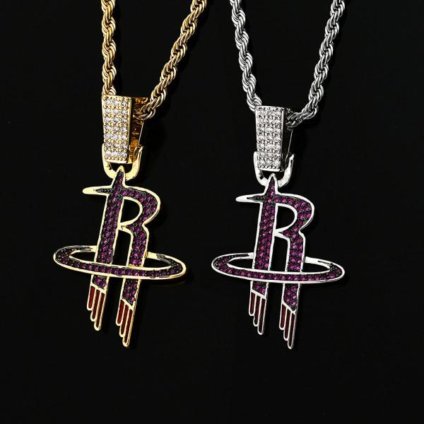 Hip Hop Team Pendant Necklace