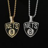 Hip Hop Zircon Pendant Necklace