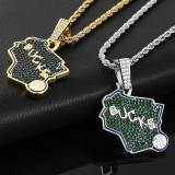 European and American hot style team pendant necklace