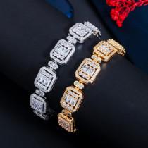 European and American fashion zircon bracelet