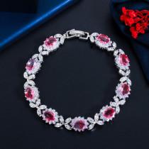 Explosion style zircon full diamond bracelet