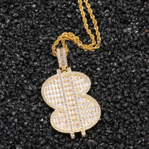 Hip Hop Pendant Necklace