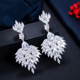 European and American style long earrings earrings