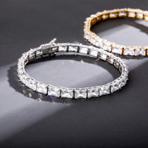 Zircon hip-hop women's bracelet