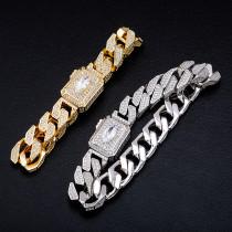 Miami zircon men's bracelet