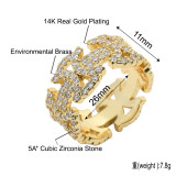 New geometric pattern hollow ring