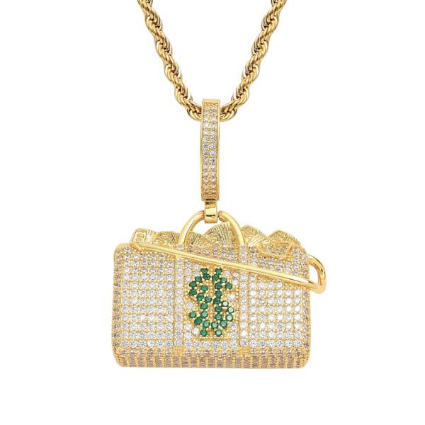 Hip hop hipster pendant necklace