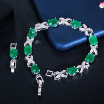 Korean version of zircon bracelet