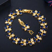 Zircon gold-plated bracelet fashion all-match bracelet