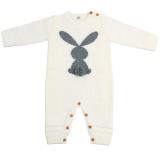 Autumn and winter cartoon rabbit knitted jumpsuit
