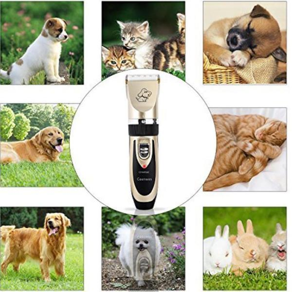 Low Noise Pet Clippers Rechargeable
