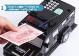 2019 new- smart music password banknote car piggy bank
