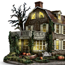America's Most Haunted  Illuminated Village Collection
