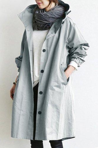 🔥50% OFF🔥Hot!Oversized Hooded Windbreaker Rain Jacket