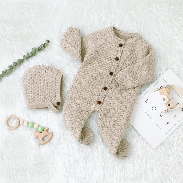 Baby knit Rompers Sweater