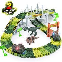 Dinosaur track toy
