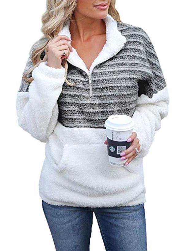 🔥 HOT SALE 🔥  2020 New Soft Fleece Pullover Outwear