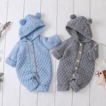Baby knit Cartoon  Jumpsuits