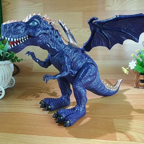 Electric toy large size walking dinosaur robot